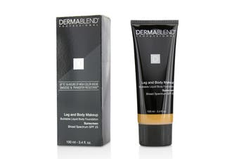 Dermablend Leg and Body Makeup Buildable Liquid Body Foundation Sunscreen Broad Spectrum SPF 25 - #Medium Bronze 45N 100ml/3.4oz