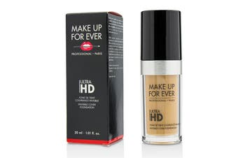Makeup For Ever Ultra HD Invisible Cover Foundation - # Y385 (Olive Beige) 30ml/1.01oz
