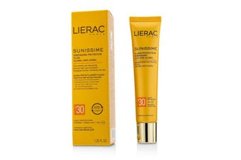 Lierac Sunissime Global Anti-Aging Energizing Protective Fluid SPF30  For Face & Decollete 40ml/1.35oz