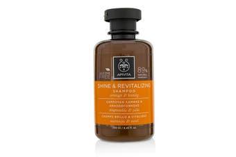 Apivita Shine & Revitalizing Shampoo with Orange & Honey (For All Hair Types) 250ml/8.45oz