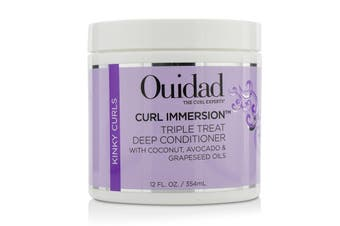 Ouidad Curl Immersion Triple Treat Deep Conditioner (Kinky Curls) 354ml/12oz