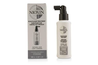 Nioxin Diameter System 1 Scalp & Hair Treatment (Natural Hair  Light Thinning) 100ml/3.38oz