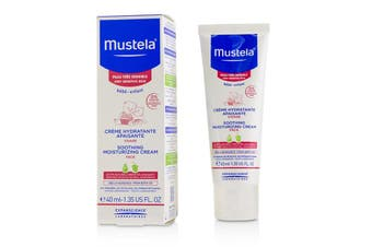 Mustela Soothing Moisturizing Cream For Face - For Very Sensitive Skin 40ml/1.35oz