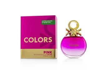 Benetton Colors Pink EDT Spray 80ml/2.7oz