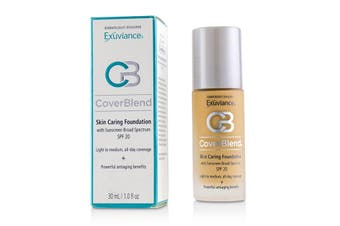 Exuviance CoverBlend Skin Caring Foundation SPF20 - # Golden Beige 30ml/1oz