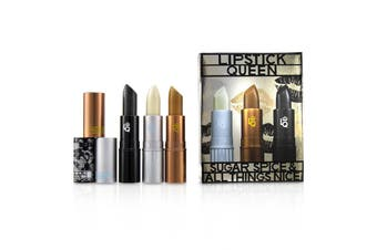 Lipstick Queen Sugar Spice & All Things Nice Lipstick Set : (1x Ice Queen  1x Queen Bee  1x Black Lace Rabbit) 3x3.5g/0.12oz