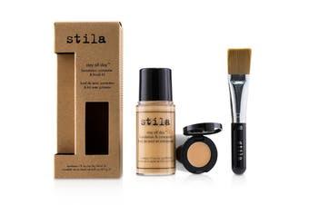 Stila Stay All Day Foundation  Concealer & Brush Kit - # 6 Tone 2pcs