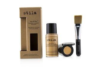 Stila Stay All Day Foundation  Concealer & Brush Kit - # 9 Medium 2pcs