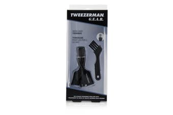 Tweezerman G.E.A.R. Nose Hair Trimmer With Brush 2pcs