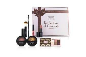 Laura Geller For The Love Of Chocolate A 7 Piece Collection Of Chocolate Beauty Delights - # Tan 7pcs