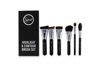 Sigma Beauty Highlight and Contour Brush Set 7pcs