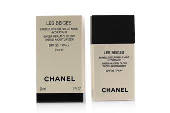 Chanel Les Beiges Sheer Healthy Glow Tinted Moisturizer SPF 30 - # Deep 30ml/1oz