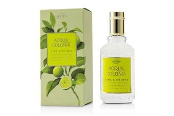 4711 Acqua Colonia Lime & Nutmeg EDC Spray 50ml/1.7oz