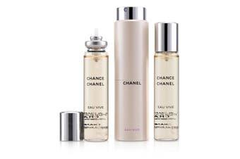Chanel Chance Eau Vive Twist & Spray EDT 3x20ml/0.7oz