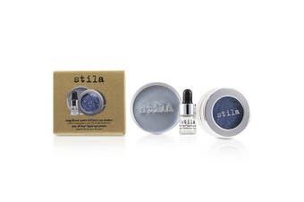 Stila Magnificent Metals Foil Finish Eye Shadow With Mini Stay All Day Liquid Eye Primer - Metallic Cobalt 2pcs