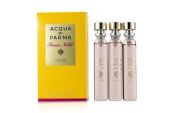 Acqua Di Parma Peonia Nobile Leather Purse Spray Refills EDP 3x20ml/0.7oz
