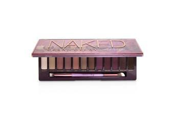 Urban Decay Naked Cherry Eyeshadow Palette: 12x Eyeshadow  1x Double Ended Brush 12x1.1g/0.038oz