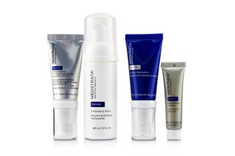 Neostrata Skin Active Derm Actif Repair - Comprehensive Antiaging System: Exfoliating Wash + Cellular Restoration + Matrix Support SPF 30 + Intensive Eye Therapy 4pcs