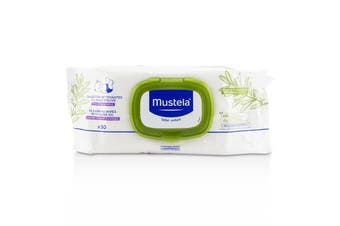 Mustela Stelatopia Replenishing Cleansing Wipes - For Face  Hands & Body 50wipes