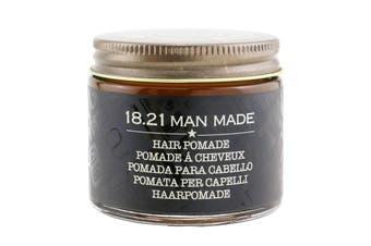 18.21 Man Made Pomade - # Sweet Tobacco (Shiny Finish / Medium Hold) 56.7g/2oz