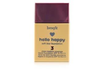 Benefit Hello Happy Soft Blur Liquid Foundation SPF 15 - # 3 (Light Neutral) 30ml/1oz