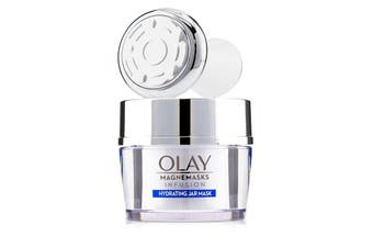 Olay Magnemasks Infustion Hydrating Starter Kit - For Dryness & Roughness : 1x Magnetic Infuser + 1x Hydrating Jar Mask 50g 2pcs