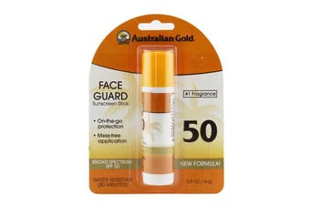 Australian Gold Face Guard Sunscreen Stick Broad Spectrum SPF 50 - #1 Fragrance 14g/0.5oz