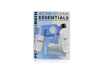 Peter Thomas Roth Acne-Clear Essentials 5-Piece Acne Kit: Wash 57ml+Correction Pads 20 pcs+Moisturizer 20ml+Treatment 7.5ml+Clear Dots 12 dots 5pcs