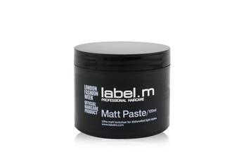 Label.M Matt Paste (Ultra Matt Texturiser For Dishevelled Light Styles) 120ml/4oz
