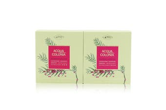 4711 Acqua Colonia Pink Pepper & Grapefruit Aroma Soap Duo 2x100g/3.5oz