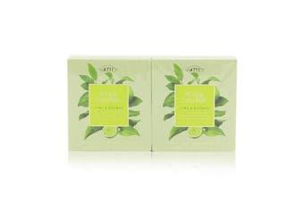 4711 Acqua Colonia Lime & Nutmeg Aroma Soap Duo 2x100g/3.5oz