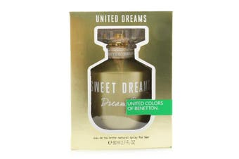 Benetton United Dreams Sweet Dreams EDT Spray 80ml/2.7oz