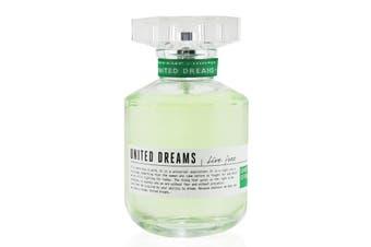 Benetton United Dreams Live Free EDT SpraySpray 80ml/2.7oz