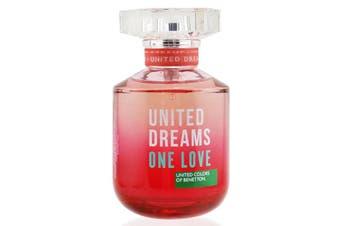 Benetton United Dreams One Love EDT Spray 80ml/2.7oz