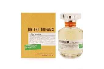 Benetton United Dreams Stay Positive EDT Spray 50ml/1.7oz