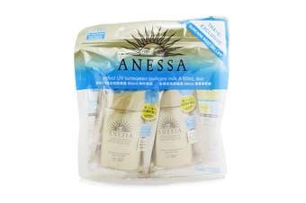 Shiseido Anessa Perfect UV Sunscreen Skincare Milk SPF50+ PA++++ Duo Pack 2x60ml/2oz
