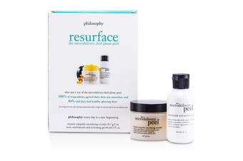 Philosophy The Microdelivery Peel: Lactic/Salicylic Acid Activation Gel + Vitamin C Resurfacing Crystal 2pcs