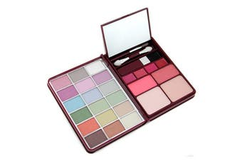 Cameleon MakeUp Kit G0139 (18x Eyeshadow  2x Blusher  2x Pressed Powder  4x Lipgloss) - 1
