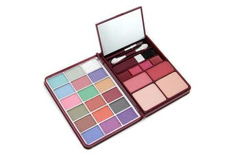 Cameleon MakeUp Kit G0139 (18x Eyeshadow  2x Blusher  2x Pressed Powder  4x Lipgloss) - 2