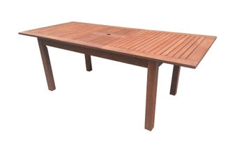 Rectangular Extension Outdoor Table