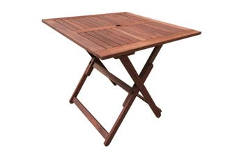 Island Square Folding Outdoor Table 80cm