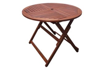 Tropical Round Folding Outdoor Table