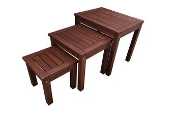 Outdoor Table Nest Tables Set of 3