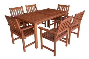 Malay 1.5m 7 Piece Outdoor Dining Set