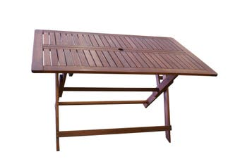 Island Rectangular Folding Outdoor Table