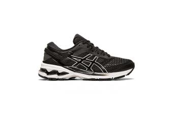 Asics Gel Kayano 26 Running Shoe - Standard - Womens US 9 - Black/White