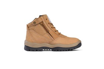 Mongrel Zipsider Safety Steel Toe Wheat		Boots