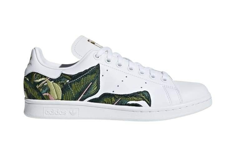 calibre Canadá Constitución  Adidas Originals x THE FARM Company Women's Stan Smith Shoes (White/Gold) -  US 10 - Kogan.com