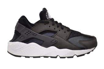 Nike Women's Air Huarache Run Running Shoe (Black/White) - US 10