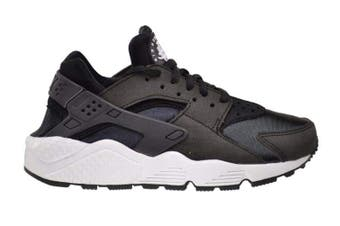 Nike Women's Air Huarache Run Running Shoe (Black/White) - US 12